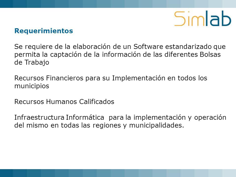 Recursos Financieros para su Implementación en todos los municipios