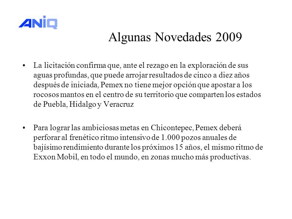 Algunas Novedades 2009