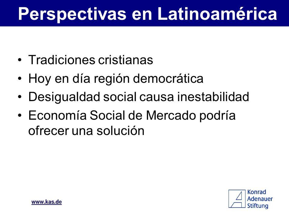 Perspectivas en Latinoamérica