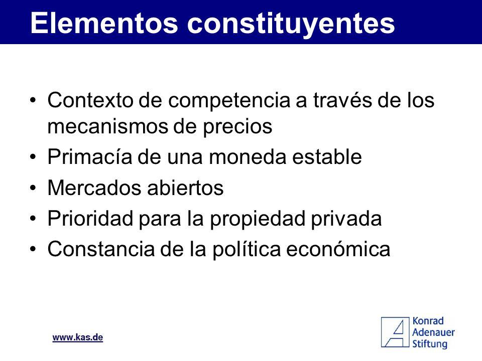 Elementos constituyentes