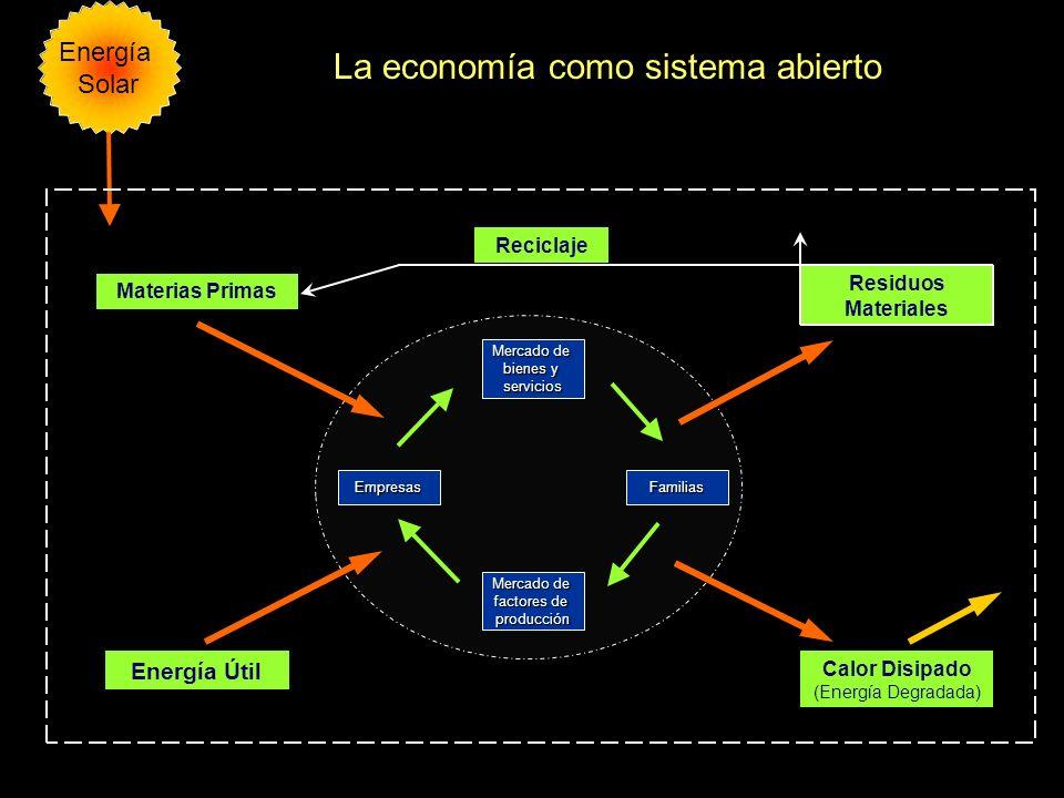 La economía como sistema abierto