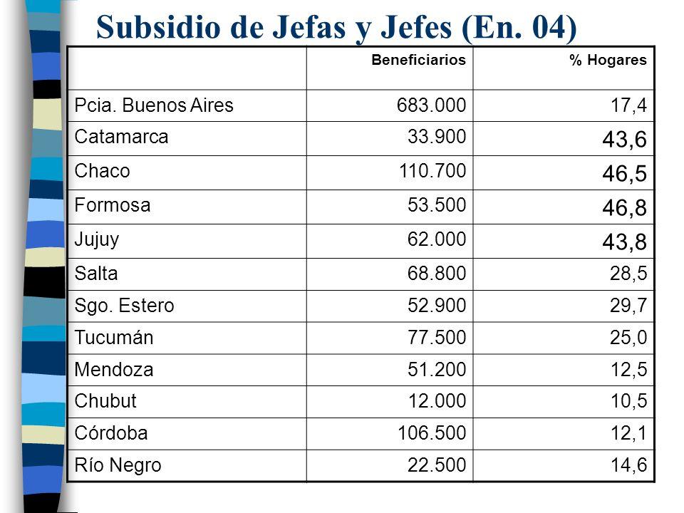 Subsidio de Jefas y Jefes (En. 04)