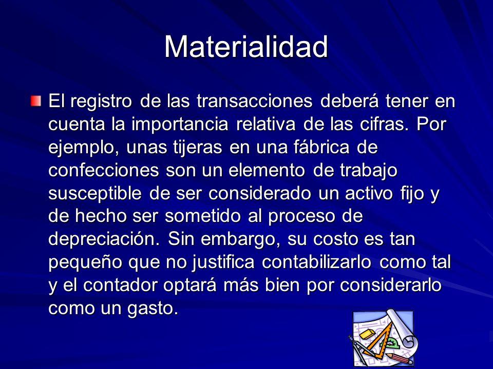 Materialidad
