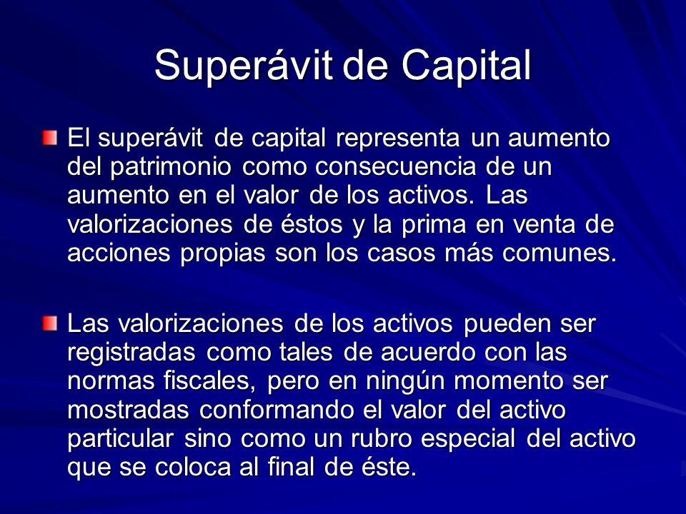 Superávit de Capital