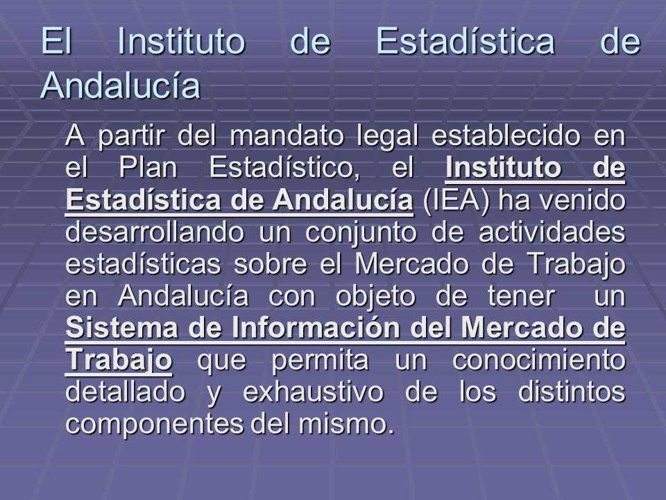 El Instituto de Estadística de Andalucía