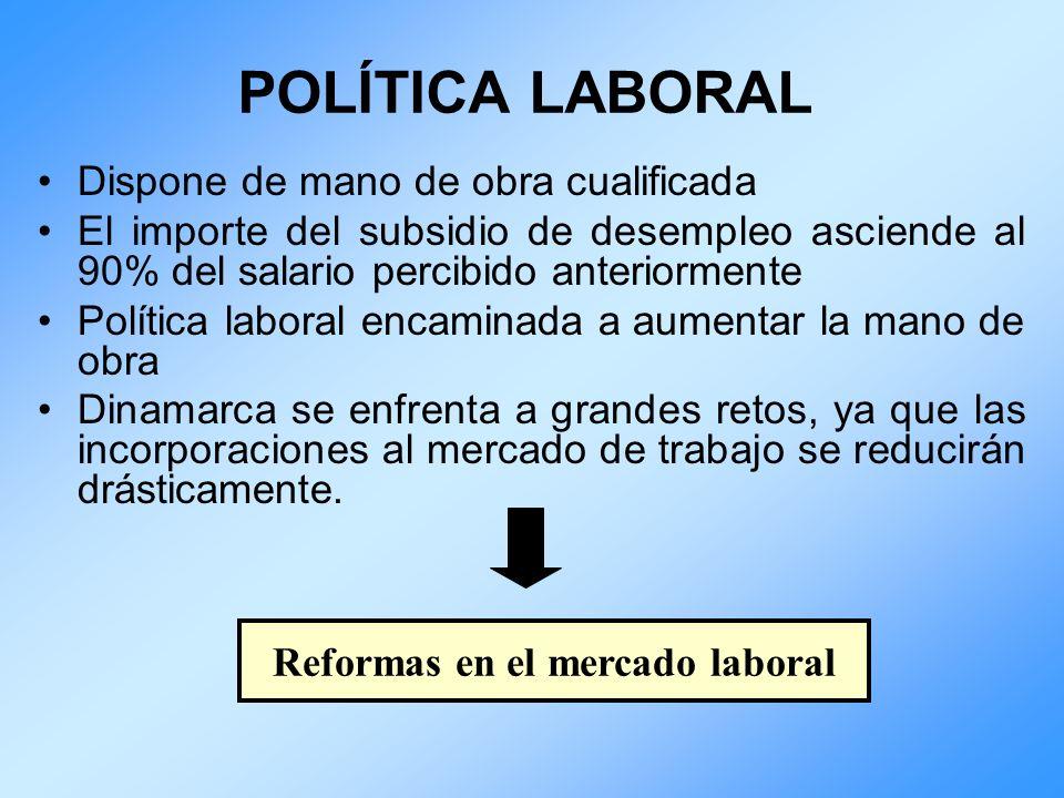 Reformas en el mercado laboral