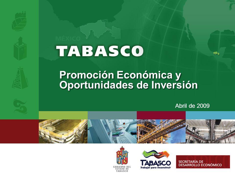 Promoción Económica y Oportunidades de Inversión