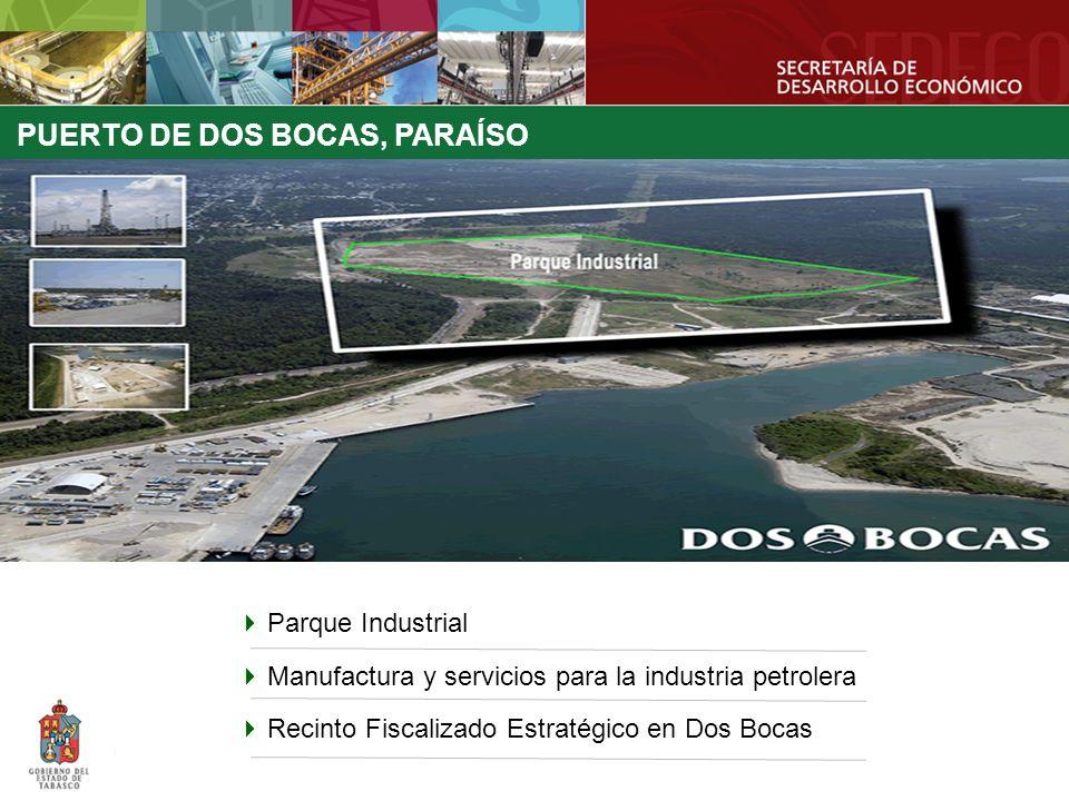 PUERTO DE DOS BOCAS, PARAÍSO