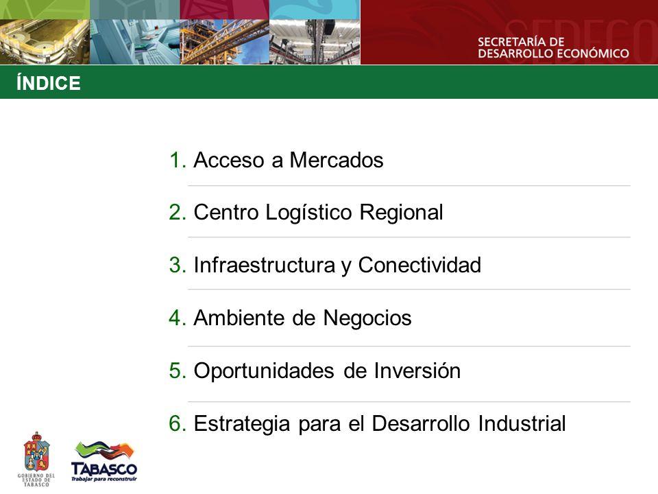 Centro Logístico Regional Infraestructura y Conectividad
