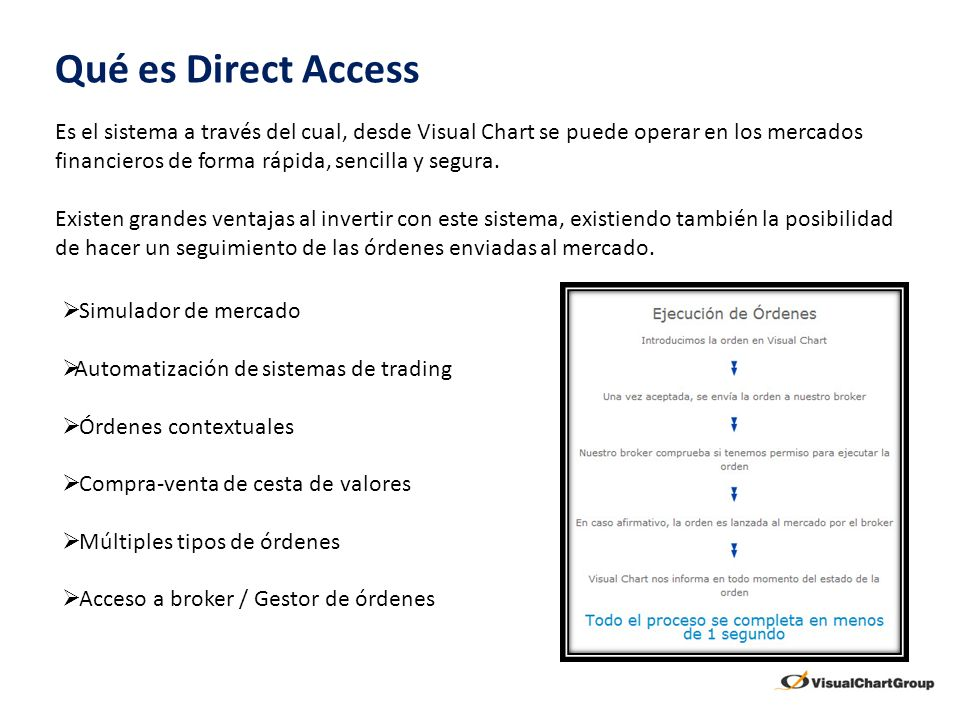 Qué es Direct Access