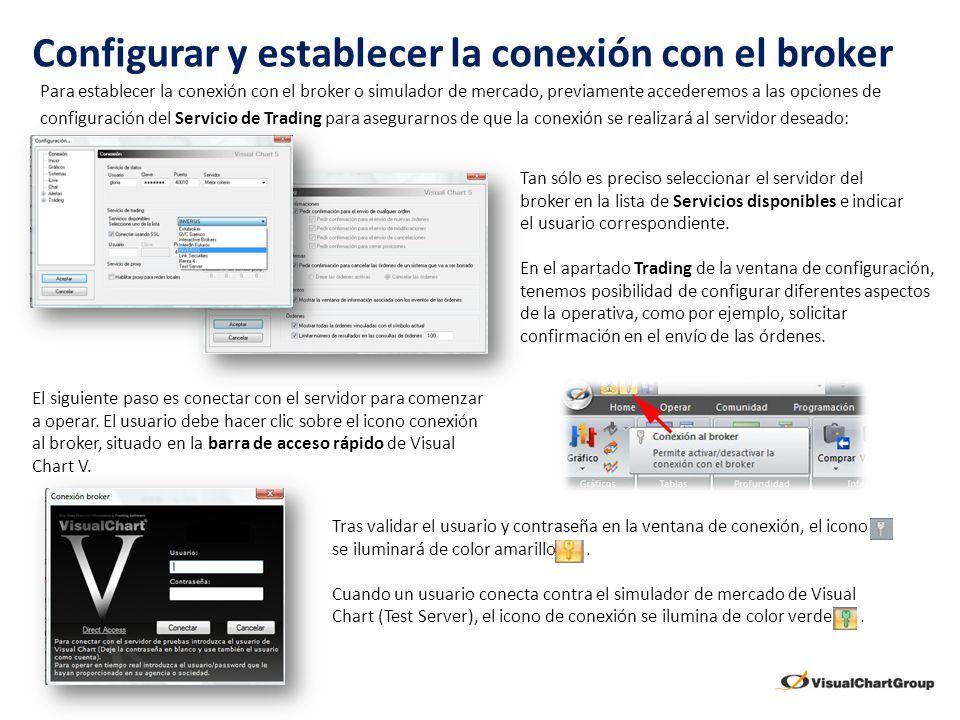 Configurar y establecer la conexión con el broker