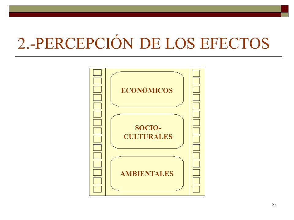 2.-PERCEPCIÓN DE LOS EFECTOS