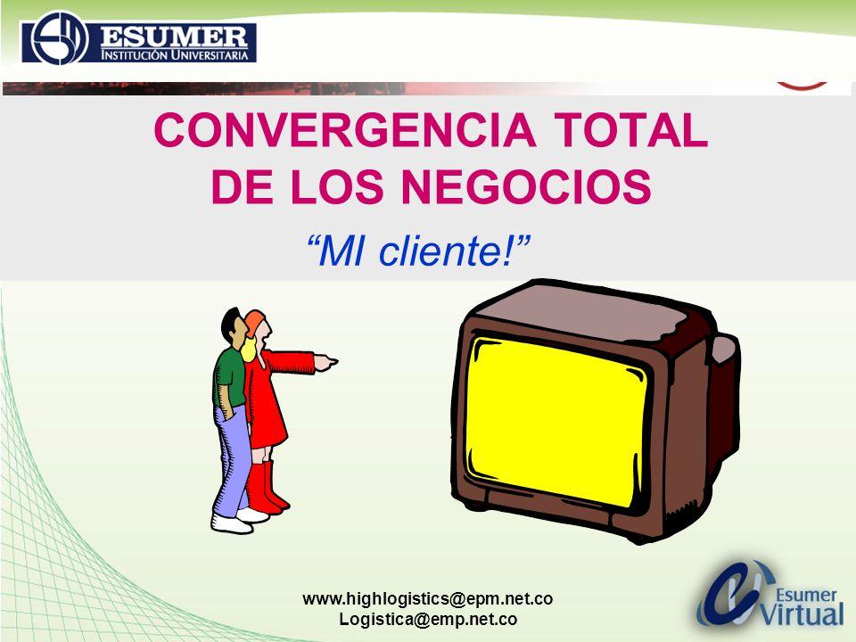 CONVERGENCIA TOTAL DE LOS NEGOCIOS