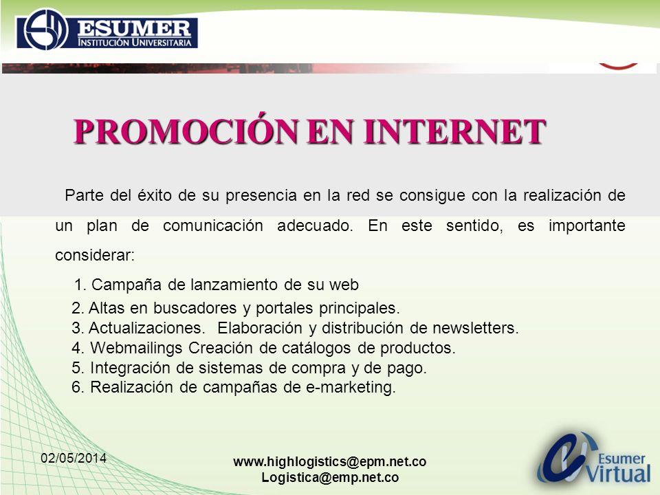 PROMOCIÓN EN INTERNET
