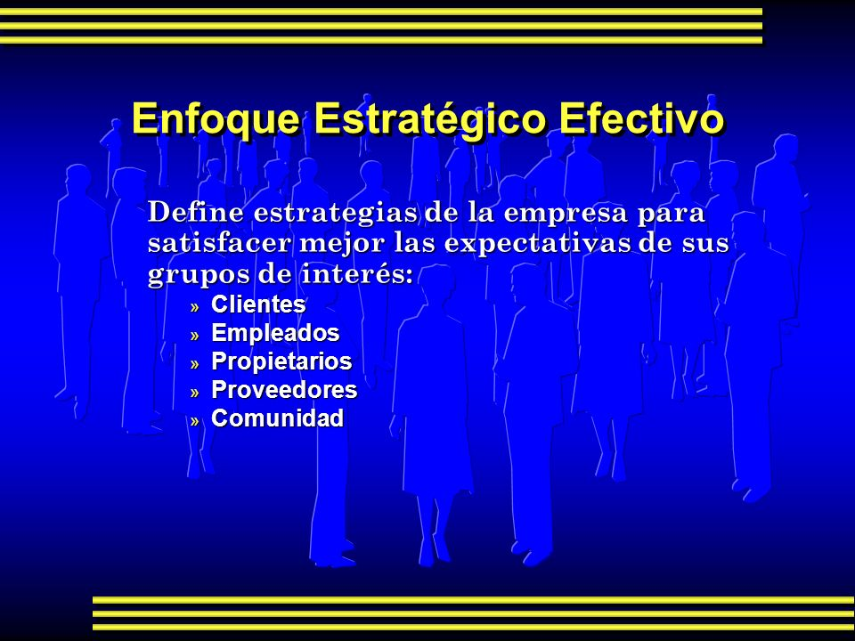 Enfoque Estratégico Efectivo