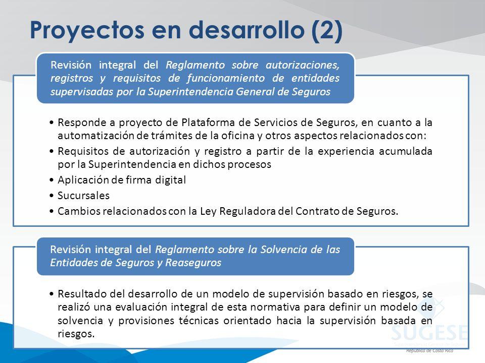 Proyectos en desarrollo (2)