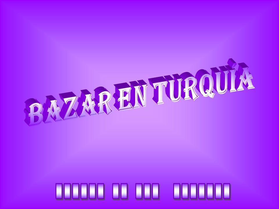 Bazar en turquía ______ __ ___ _______