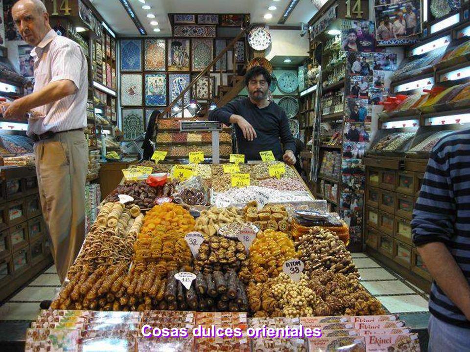 Cosas dulces orientales