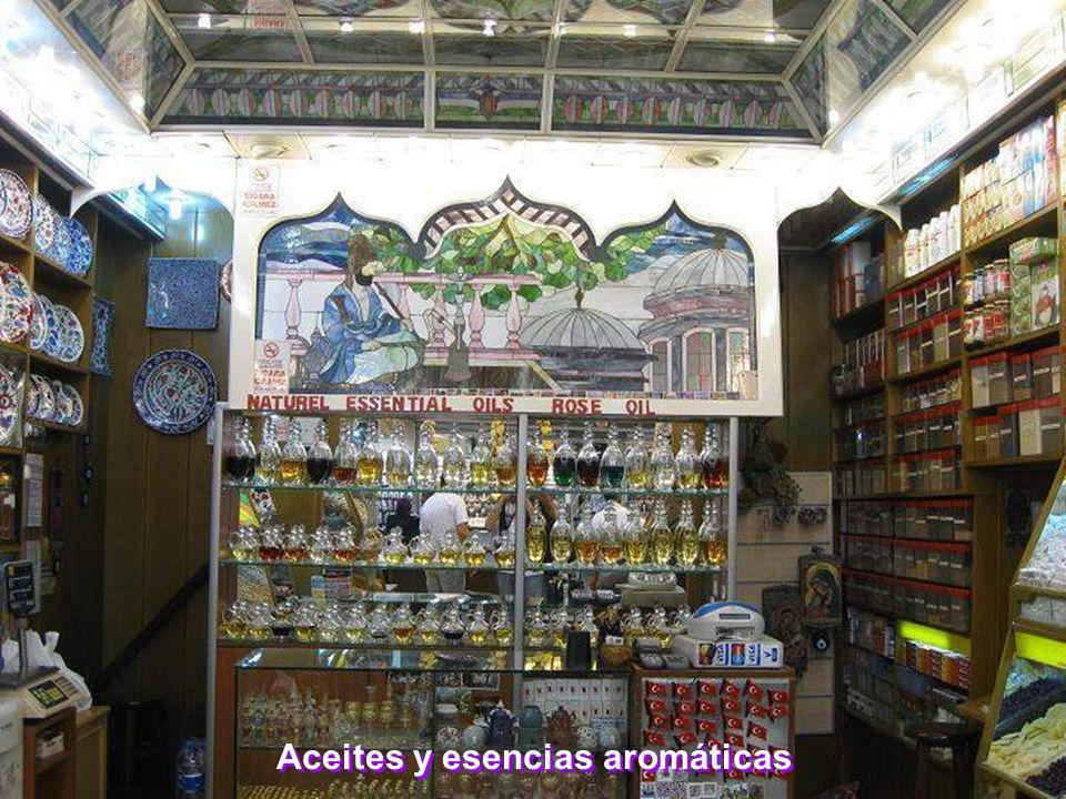 Aceites y esencias aromáticas