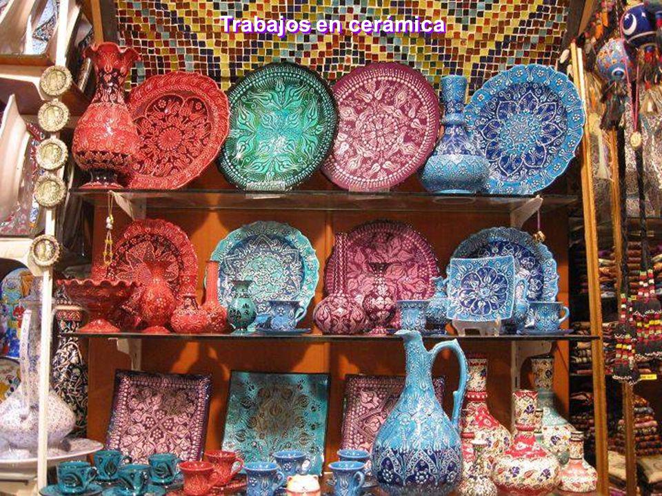 Trabajos en cerámica