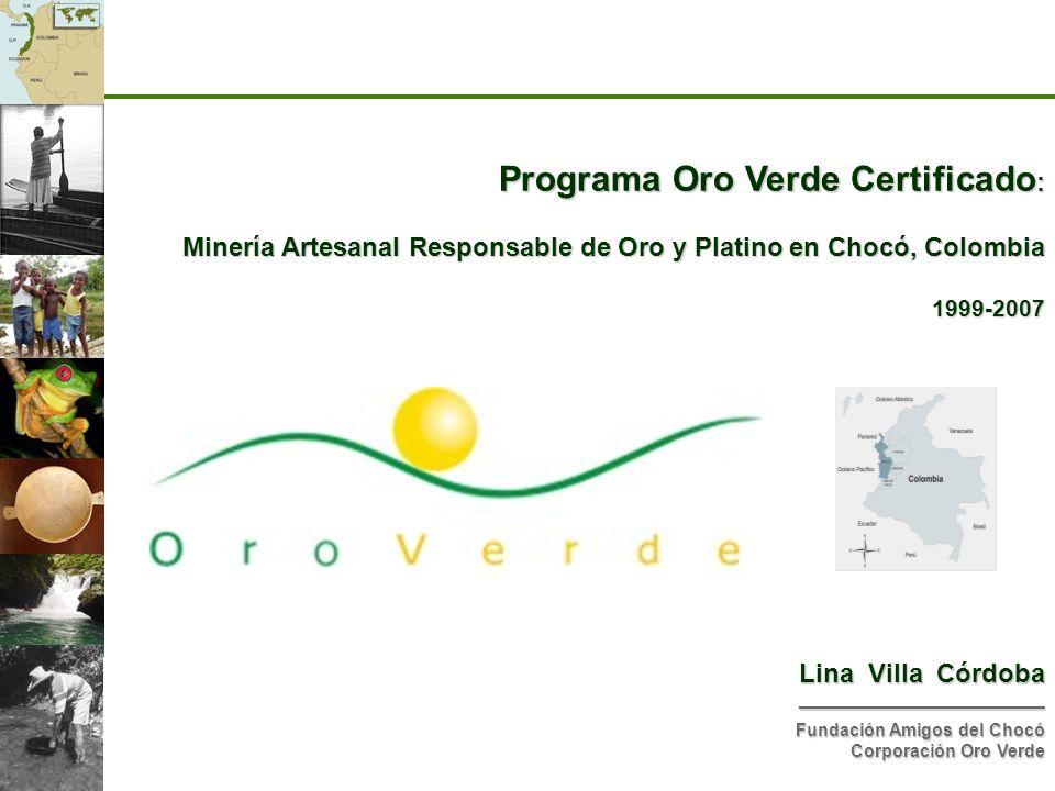 Programa Oro Verde Certificado: