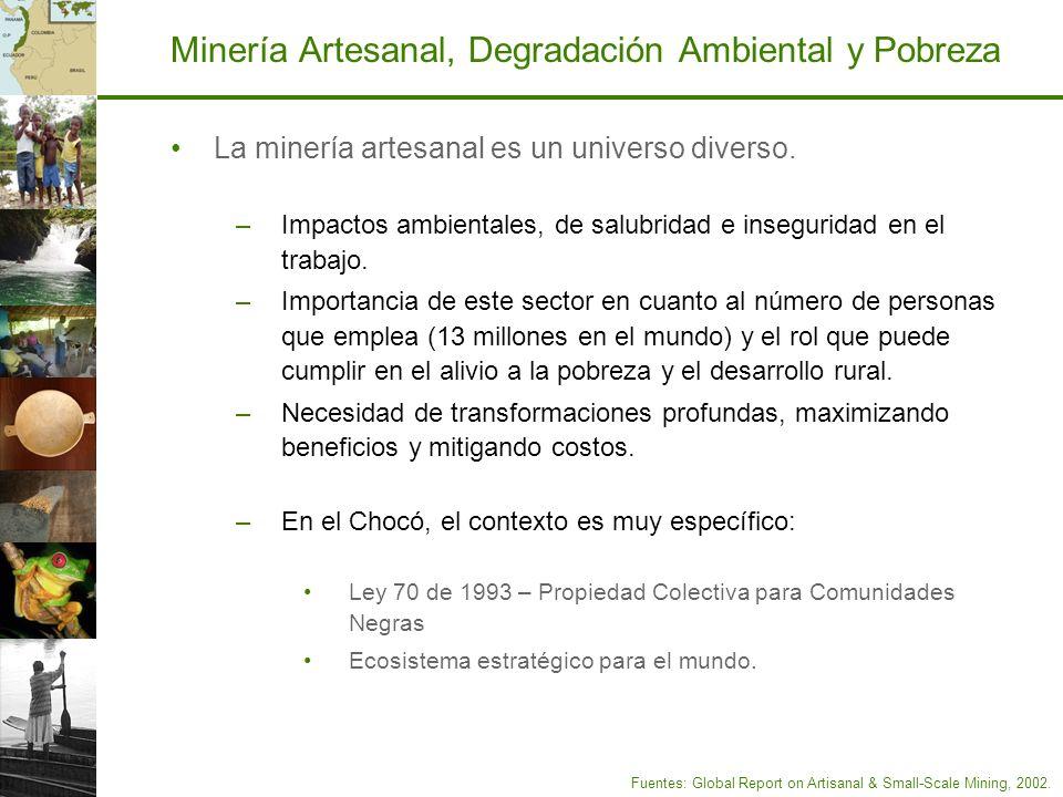 Minería Artesanal, Degradación Ambiental y Pobreza