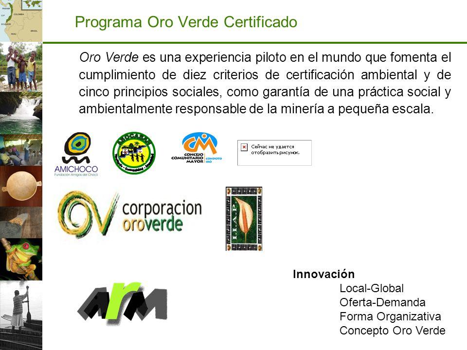 Programa Oro Verde Certificado