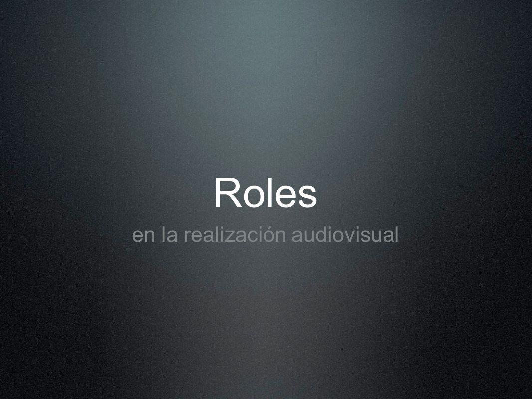 en la realización audiovisual