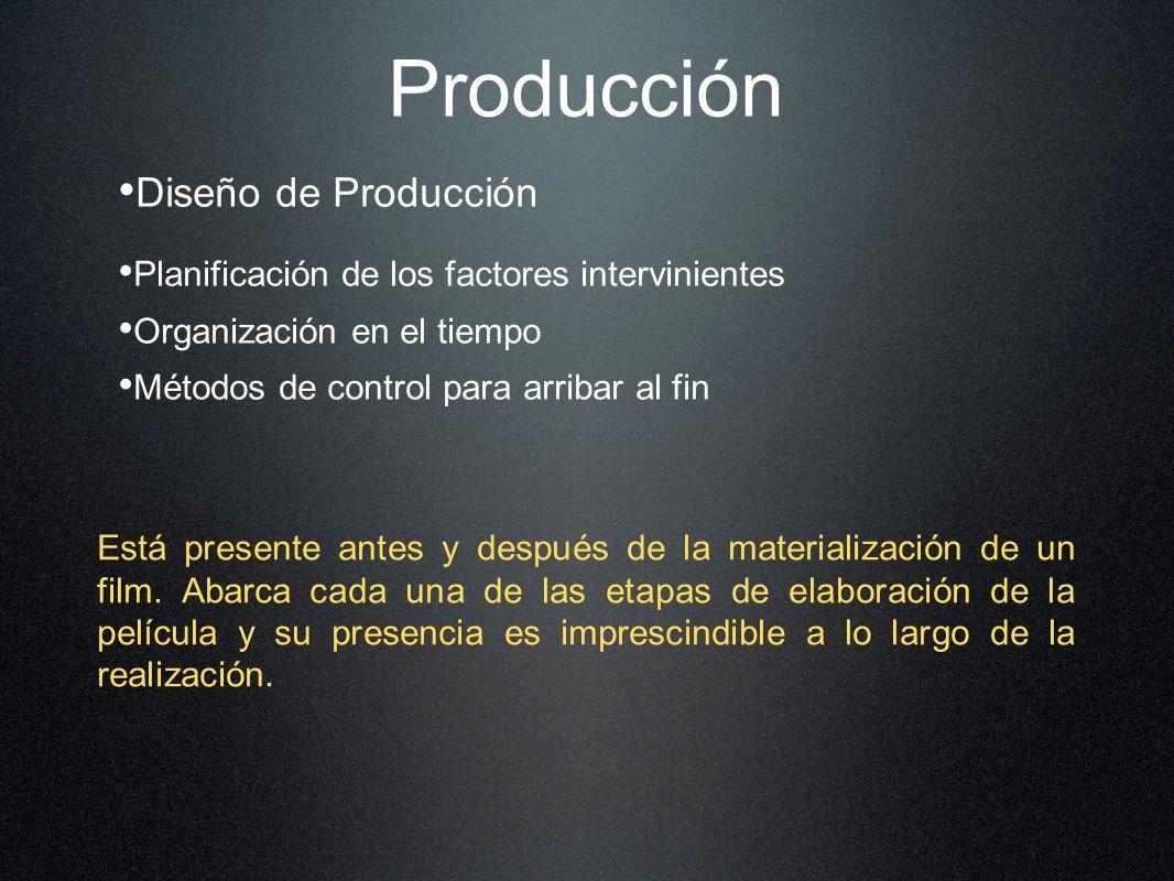 Producción Diseño de Producción