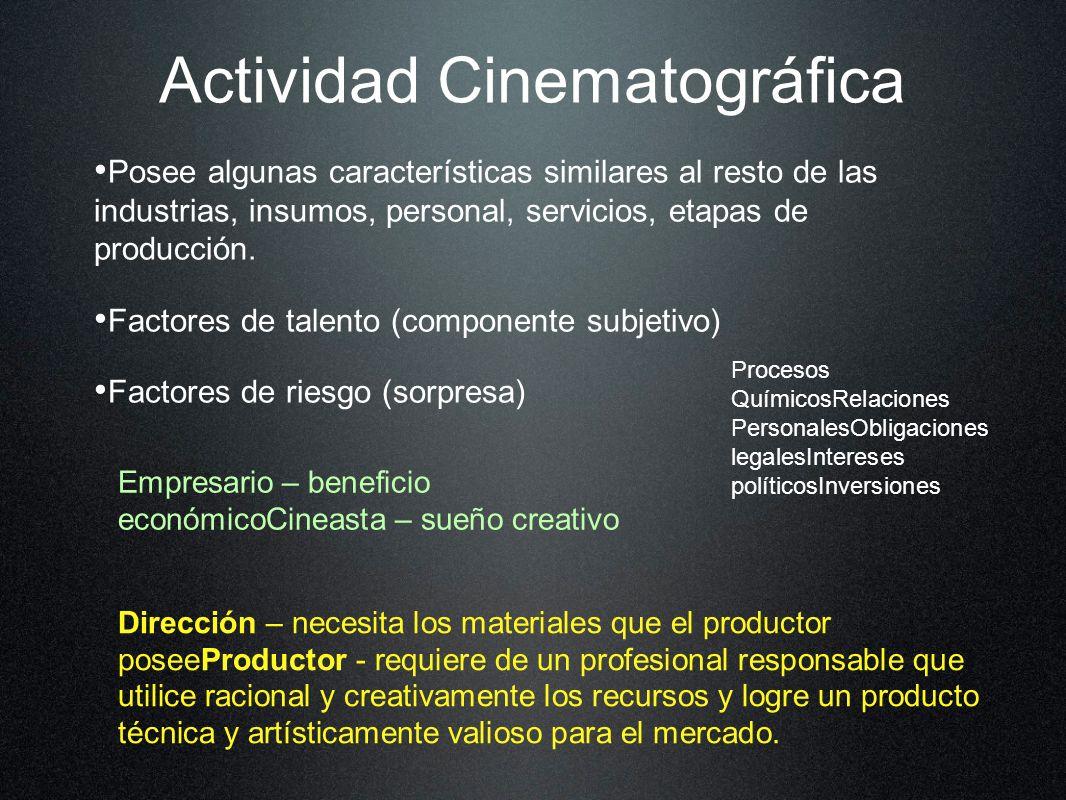 Actividad Cinematográfica