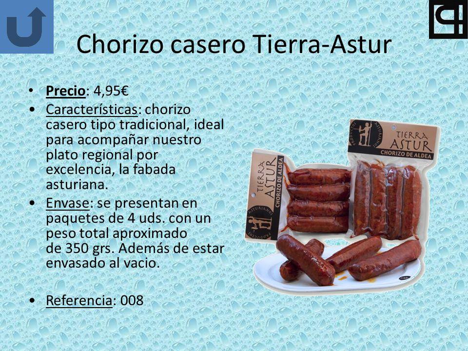 Chorizo casero Tierra-Astur