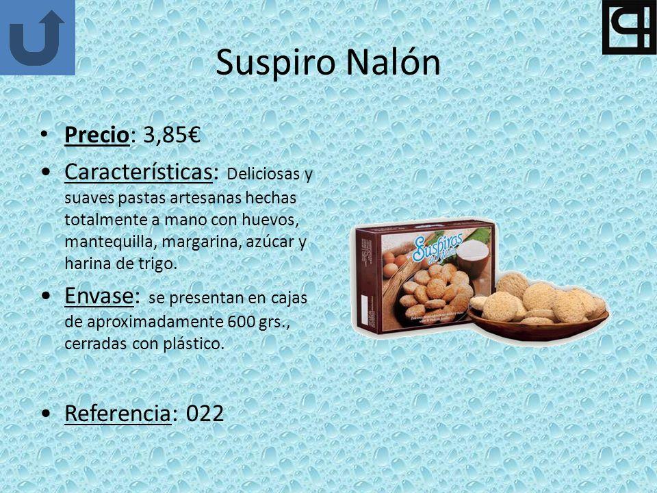 Suspiro Nalón Precio: 3,85€