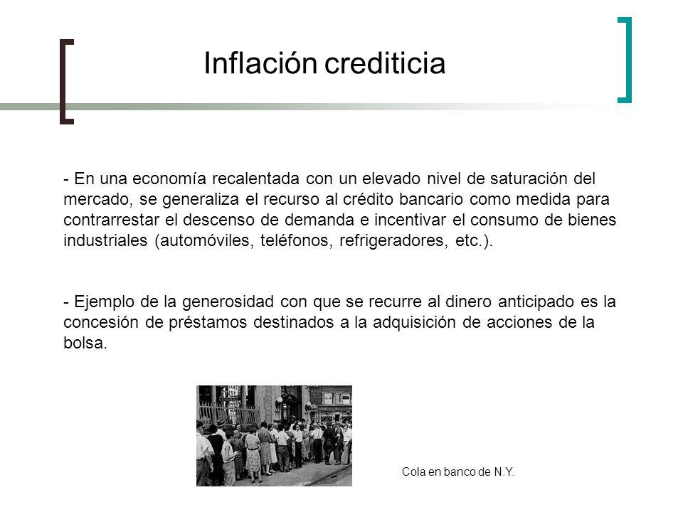 Inflación crediticia