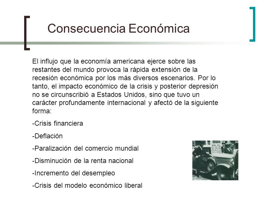 Consecuencia Económica