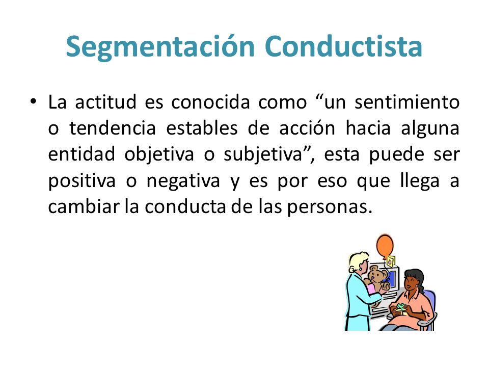 Segmentación Conductista