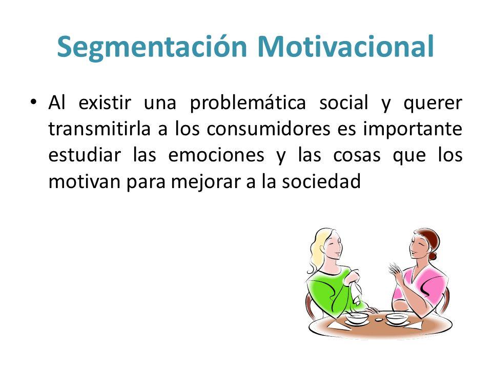 Segmentación Motivacional