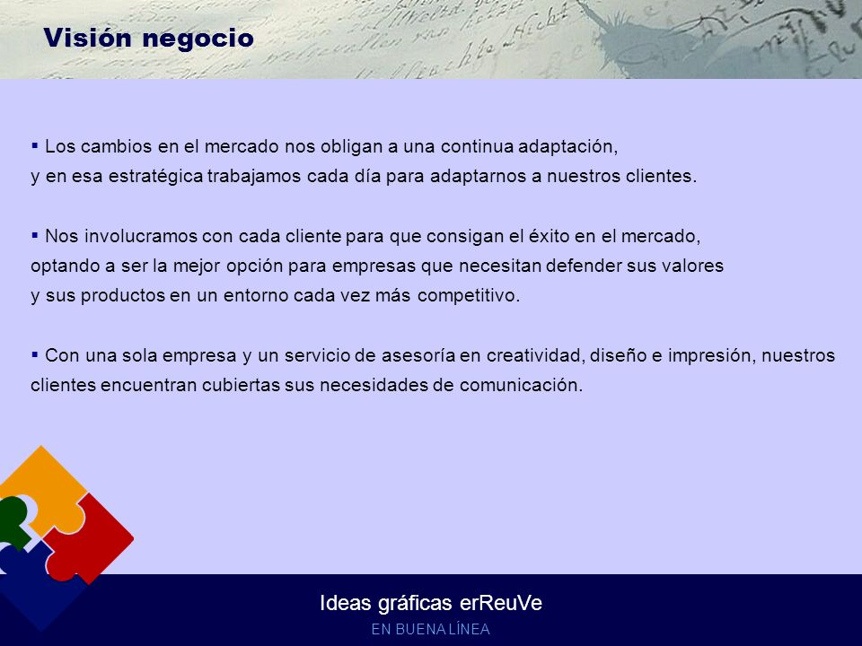 Ideas gráficas erReuVe