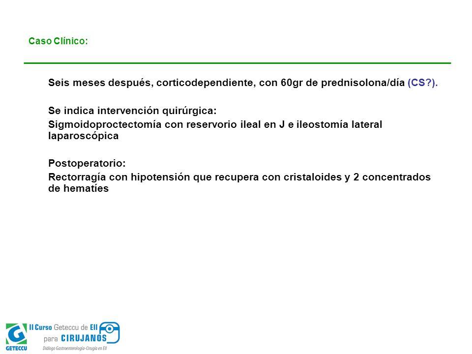 Se indica intervención quirúrgica: