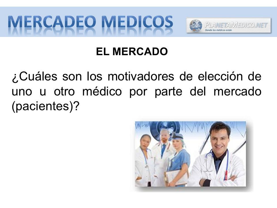 MERCADEO MEDICOS EL MERCADO.
