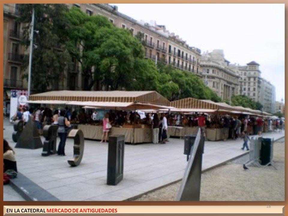 EN LA CATEDRAL MERCADO DE ANTIGUEDADES