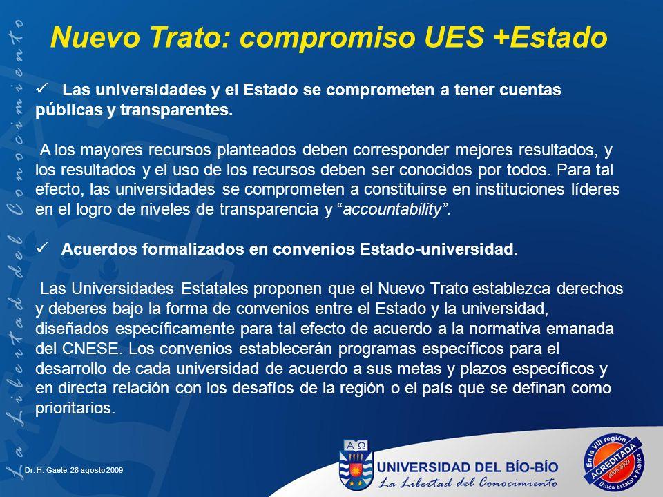 Nuevo Trato: compromiso UES +Estado
