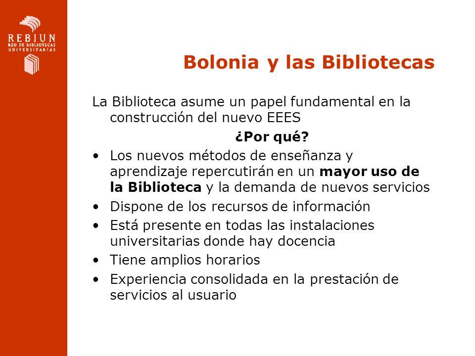 Bolonia y las Bibliotecas