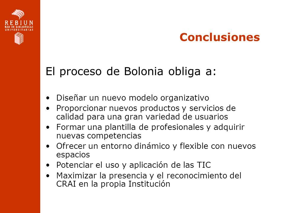 El proceso de Bolonia obliga a:
