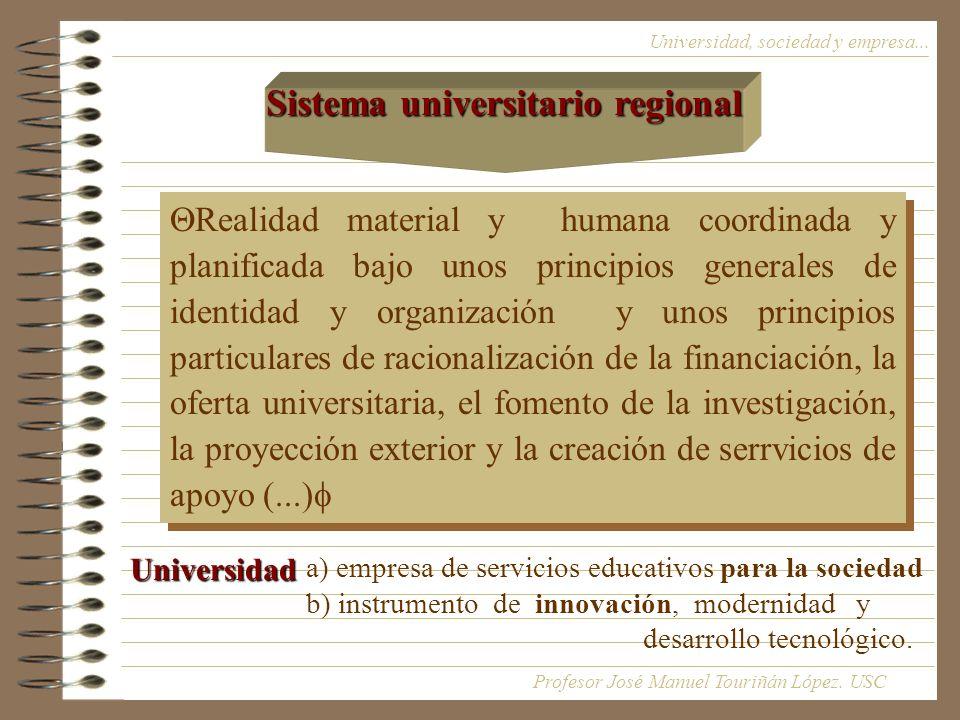 Sistema universitario regional