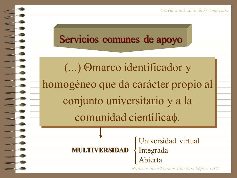 Servicios comunes de apoyo