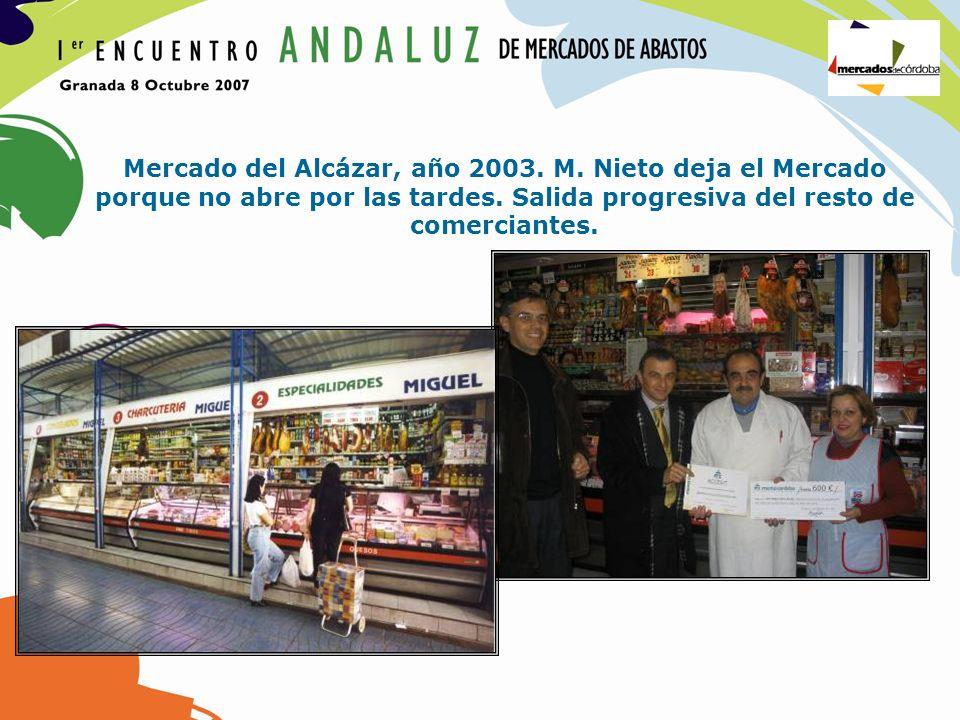 Mercado del Alcázar, año 2003. M