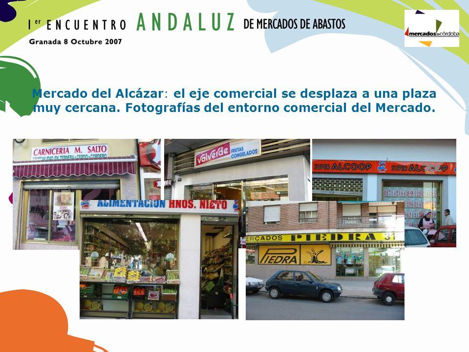 Mercado del Alcázar: el eje comercial se desplaza a una plaza muy cercana.