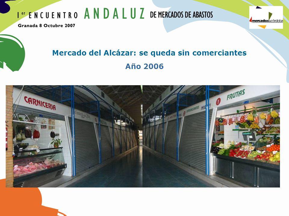 Mercado del Alcázar: se queda sin comerciantes