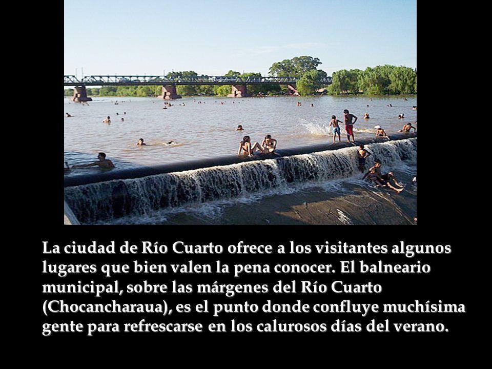 La ciudad de Río Cuarto ofrece a los visitantes algunos lugares que bien valen la pena conocer.