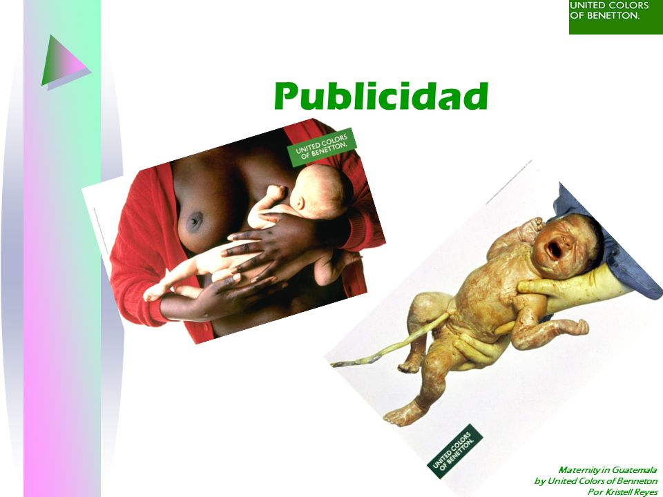 Publicidad Maternity in Guatemala by United Colors of Benneton
